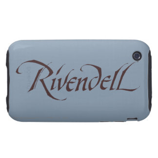 Rivendell Name Solid iPhone 3 Tough Cover