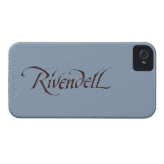 Rivendell Name Solid iPhone 4 Case