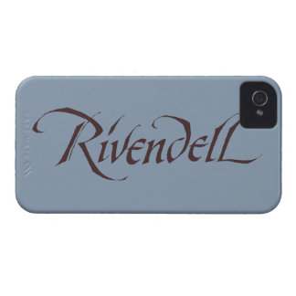 Rivendell Name Solid iPhone 4 Cover