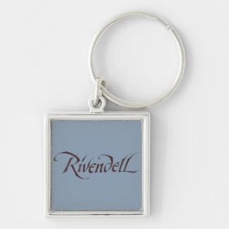 Rivendell Name Solid Keychain