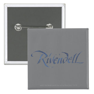 Rivendell Name Textured Button