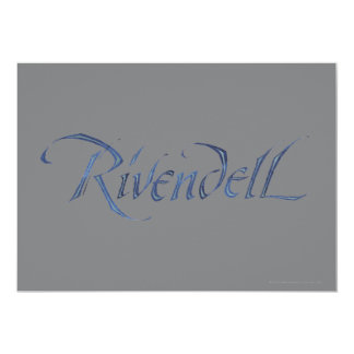 Rivendell Name Textured Card