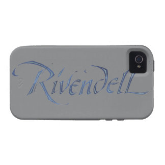 Rivendell Name Textured Case-Mate iPhone 4 Cases