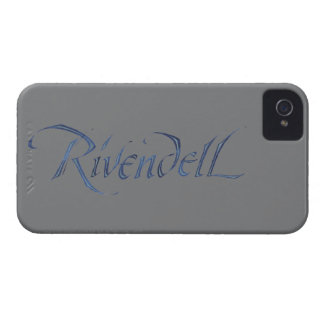 Rivendell Name Textured iPhone 4 Case