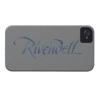 Rivendell Name Textured iPhone 4 Cases