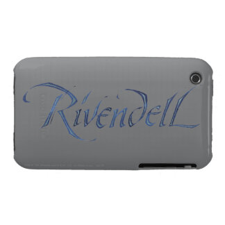 Rivendell Name Textured Case-Mate iPhone 3 Case