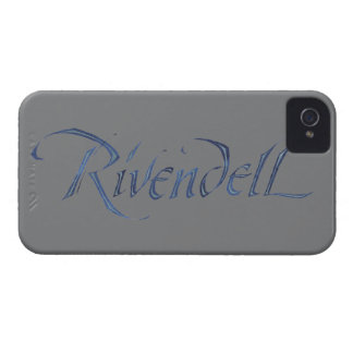 Rivendell Name Textured iPhone 4 Cover