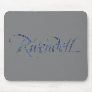 Rivendell Name Textured Mouse Pad