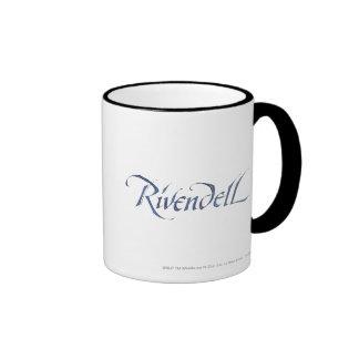 Rivendell Name Textured Ringer Mug