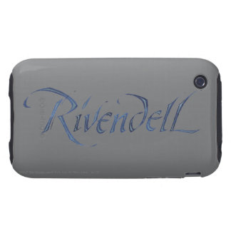 Rivendell Name Textured Tough iPhone 3 Cover