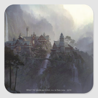 Rivendell Square Sticker