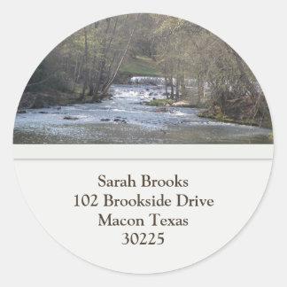 River Address Stickers