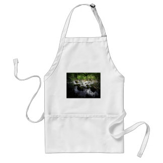 River and rocks Peace Photo Adult Apron