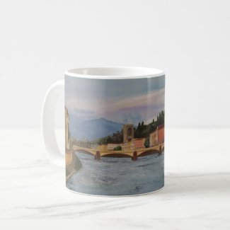River Arno Painting Mug