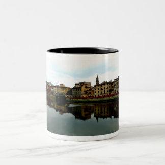 River Arno Two-Tone Coffee Mug