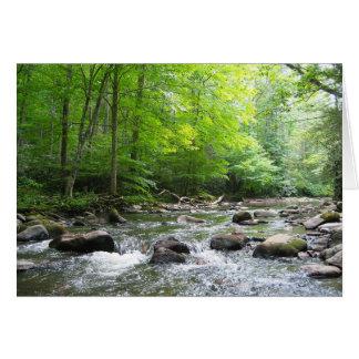 River at Backbone Rock Card