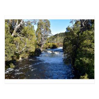RIVER AT CRADLE MOUNTAIN TASMANIA AUSTRALIA POSTCARD