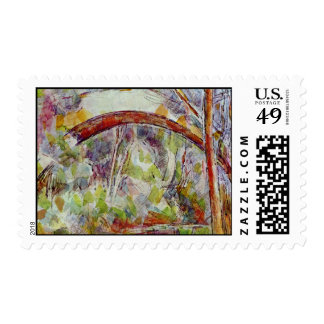 River At The Bridge Of The Three Sources Postage Stamps