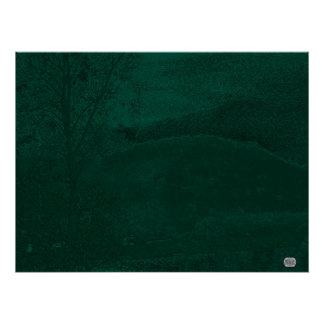 River Bank At Dusk Poster