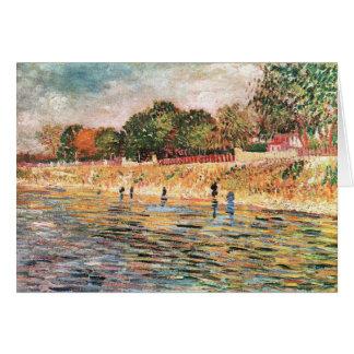 River bank by Vincent van Gogh Card