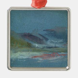 River bank, c.1830 metal ornament