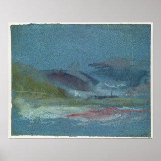 River bank, c.1830 poster