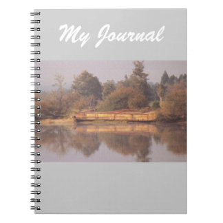 River Barge Notebook