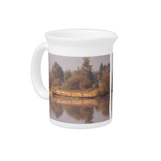 River Barge Pitcher