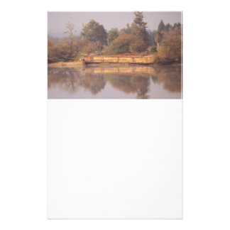 River Barge Stationery