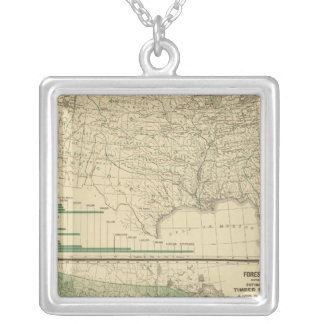 River basins, Forestry Custom Necklace