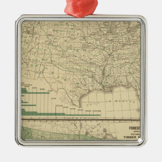 River basins, Forestry Christmas Tree Ornaments
