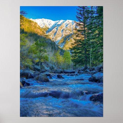 River Bed Sunrise // Long Exposure Water