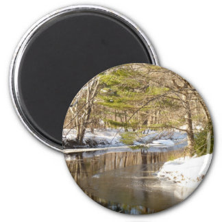 River Bend 2 Inch Round Magnet