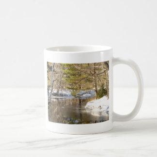 River Bend Classic White Coffee Mug