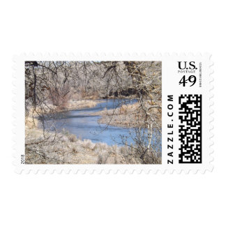 River Bend Postage Stamps