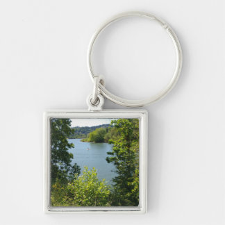 River Beyond the Trees Keychain