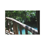 River blue canvas prints