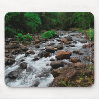 River Bouliki Heart of Martinique Mouse Pad