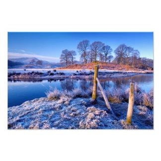 River Brathay reflections - The Lake District Photo Print