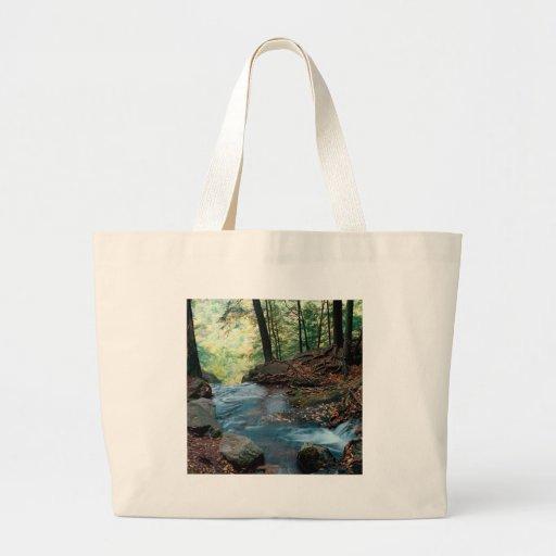 River Buttermilk Falls Delaware Gap New Jersey Canvas Bag
