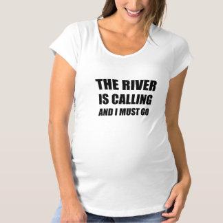 River Calling Must Go Maternity T-Shirt