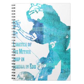 River capital Suruga Cho Mitsui seeing world Notebook