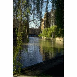 River Carn at St. John's College, Cambridge, U.K. Cut Out
