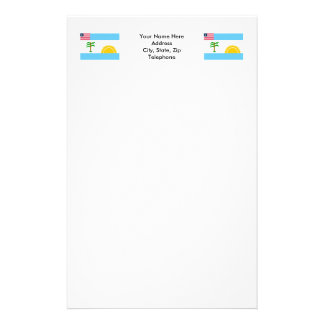 River Cess County Flag Stationery