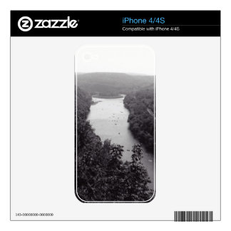 River Circle iPhone 4S Decals