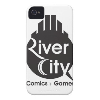 River City iPhone 4 Cover (Black)