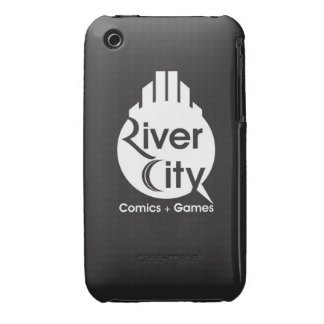 River City iPhone 4 Cover (Black & White)