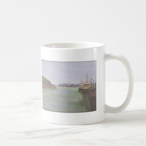 River Classic White Coffee Mug