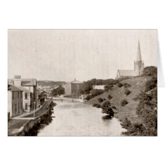 River Cocker from Jubilee Bridge Card