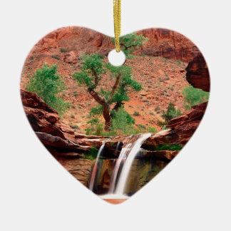 River Coyote Gulch Escalante Canyons Utah Ceramic Ornament